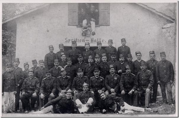 1910 Gruppenbild